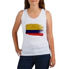 Colombia Flag Women's Tank Top