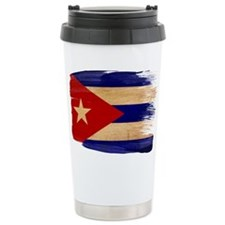 Cuba Flag Travel Coffee Mug