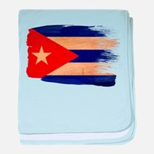 Cuba Flag baby blanket