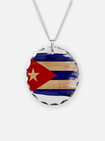 Cuba Flag Necklace