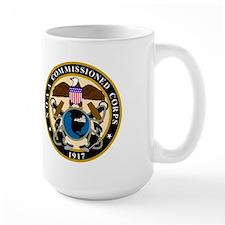 NOAA Rear Admiral (LH)<BR> 15 Ounce Mug
