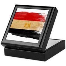 Egypt Flag Keepsake Box