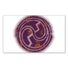 Spiral Energy Rectangle Decal