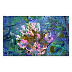 Monet - Agapanthus Detail Decal