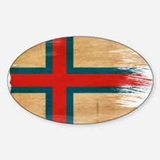 Faroe Islands Flag Decal
