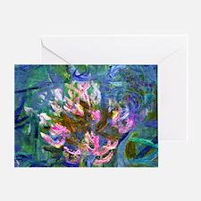 Monet - Agapanthus Detail Greeting Card