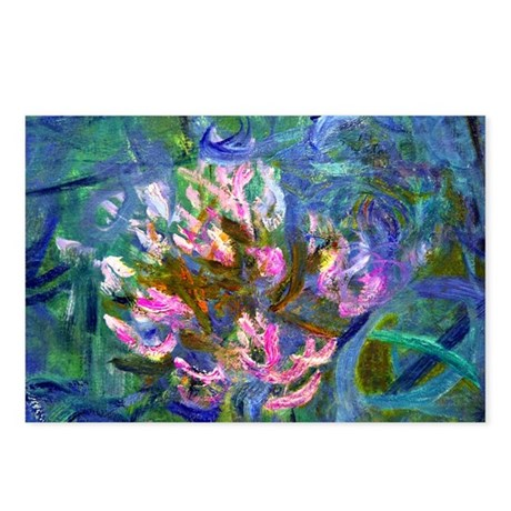 Monet - Agapanthus Detail Postcards (Package of 8)