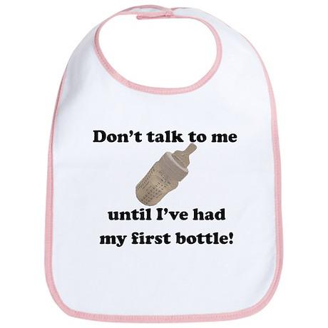 First Bottle Bib (pink)