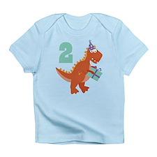 2nd Birthday Dinosaur Infant T-Shirt