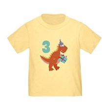 3rd Birthday Dinosaur T