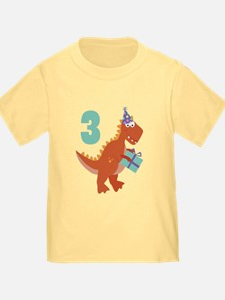 3rd Birthday Dinosaur T
