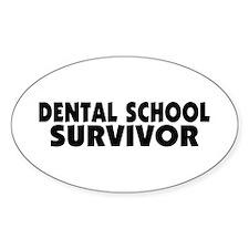 Dental School Survivor Decal