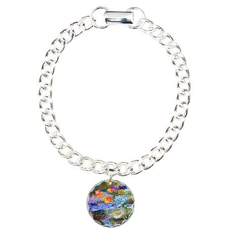 Monet - Lily Pond Charm Bracelet, One Charm