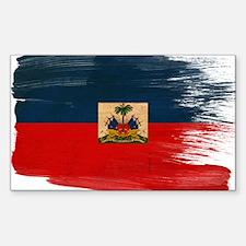Haiti Flag Decal