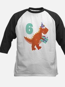 6th Birthday Dinosaur Tee