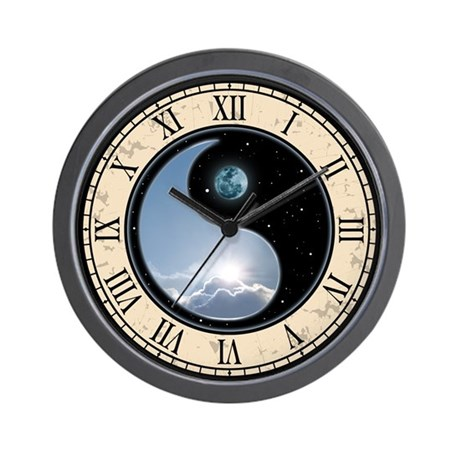 Sun & Moon Wall Clock