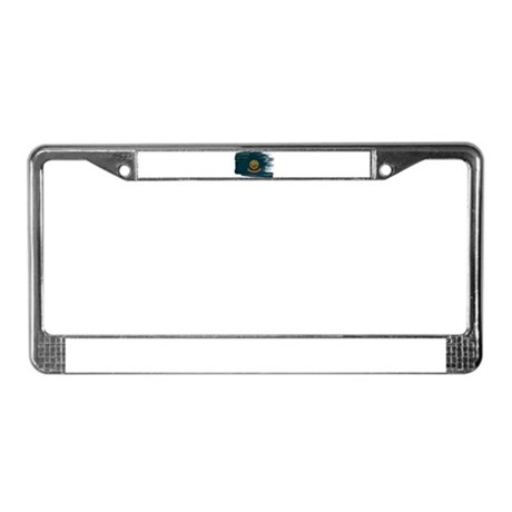Idaho Flag License Plate Frame