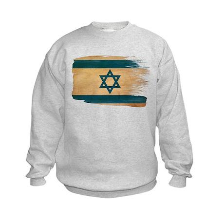 Israel Flag Kids Sweatshirt