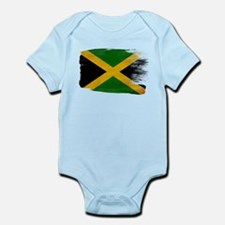 Jamaica Flag Infant Bodysuit