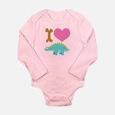Dinosaur Lover Gift Long Sleeve Infant Bodysuit