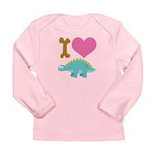 Dinosaur Lover Gift Long Sleeve Infant T-Shirt