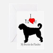 Bouvier des Flandres Greeting Cards (Pk of 10)