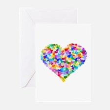 Rainbow Heart of Hearts Greeting Cards (Pk of 20)