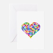 Rainbow Heart of Hearts Greeting Cards (Pk of 10)