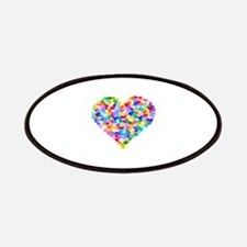 Rainbow Heart of Hearts Patches