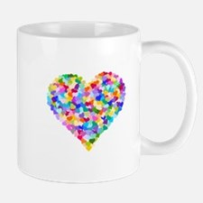 Rainbow Heart of Hearts Mug