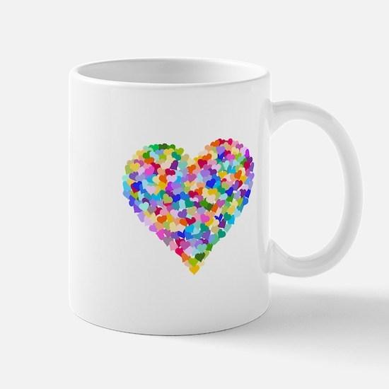 Rainbow Heart of Hearts Mug