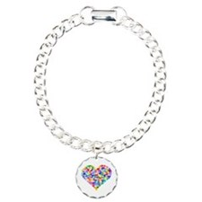 Rainbow Heart of Hearts Bracelet