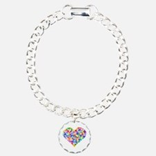 Rainbow Heart of Hearts Bracelet