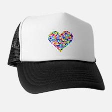 Rainbow Heart of Hearts Trucker Hat