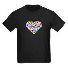 Rainbow Heart of Hearts T