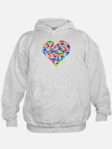 Rainbow Heart of Hearts Hoodie