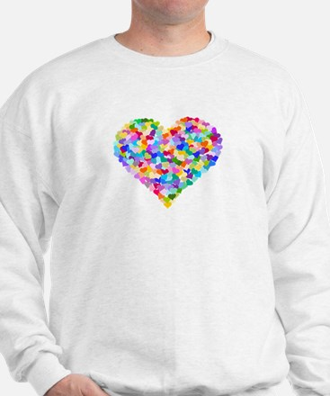 Rainbow Heart of Hearts Sweatshirt