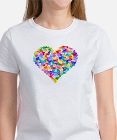 Rainbow Heart of Hearts Women's T-Shirt