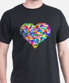 Rainbow Heart of Hearts T-Shirt