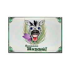 Soooo Happy! Rectangle Magnet (100 pack)