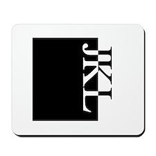 JKL Typography Mousepad