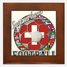 Switzerland Flag World Cup Fo Framed Tile
