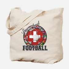 Switzerland Flag World Cup Fo Tote Bag