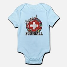 Switzerland Flag World Cup Fo Infant Bodysuit