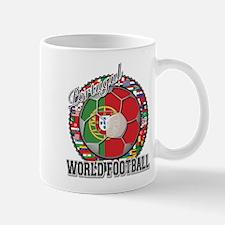 Portugal Flag World Cup Footb Mug