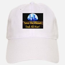 Save The Planet End All War G Baseball Baseball Cap