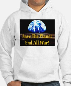 Save The Planet End All War G Hoodie