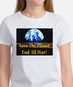 Save The Planet End All War G Tee