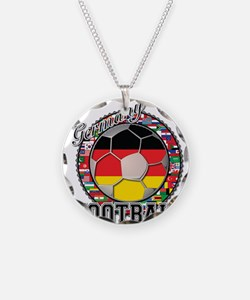 Germany Flag World Football S Necklace