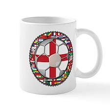 England Flag World Cup Footba Mug